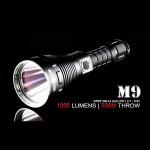 Solarforce M9 XM-L2 1020-Люмен 6 режимов 1-2x18650