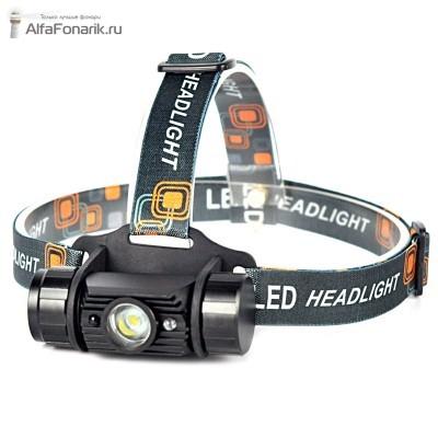 Налобный фонарь Boruit SH-G020 350-Люмен 1 режим 1x18650