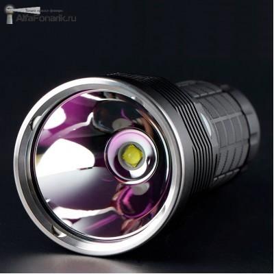 Светодиодный фонарь Convoy 4X18A XHP70.2 4300-Люмен 5 режимов 4x18650