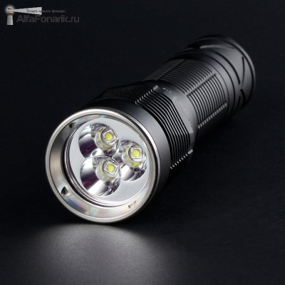 Светодиодный фонарь Convoy S12 3xSST20 2300-Люмен 4 режима 1x18650(21700)