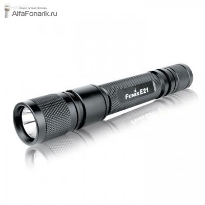 Светодиодный фонарь Fenix E21 Cree XP-E 154-Люмен 2 режима 2xAA