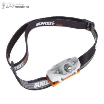 Налобный фонарь Sunree Ree Cree R5 134-Люмен 6 режимов 1xAA