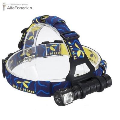 Налобный фонарь Skilhunt H02R XM-L2 860-Люмен 5 режимов 1x18650