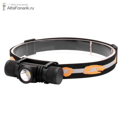 Налобный фонарь Boruit D10 700-Люмен 6 режимов 1x18650