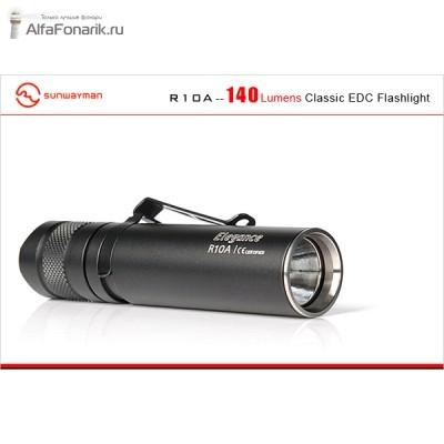 Светодиодный фонарь Sunwayman R10A XP-G2 140(205)-Люмен 2 режима 1xAA 1x14500