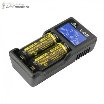 Универсальное зарядное устройство XTAR VC2 Li-Ion
