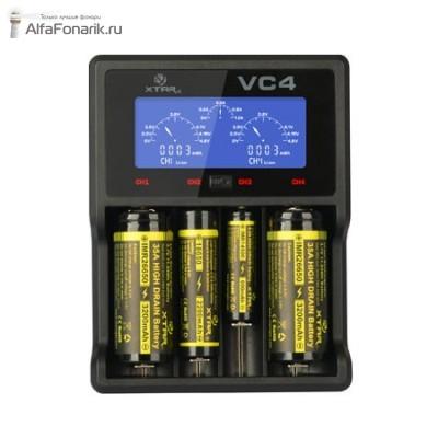 Универсальное зарядное устройство XTAR VC4 Li-Ion, Ni-Mh