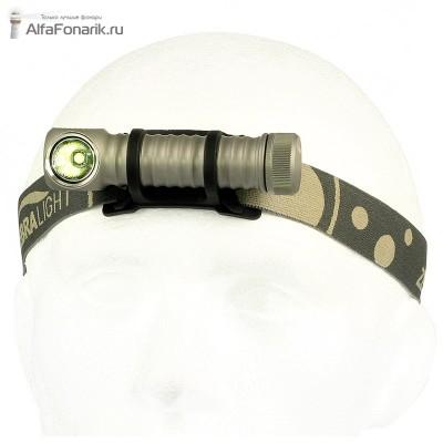 Налобный фонарь ZebraLight H600w Mk II XM-L2 1020-Люмен 12 режимов 1x18650